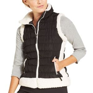 Calvin Klein Performance black & white thick vest